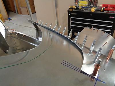 Windhield Moulding - interior view
