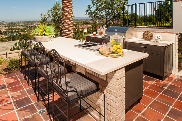 Innovative Outdoor Kitchens' Danver Project in Ladera Ranch, CA