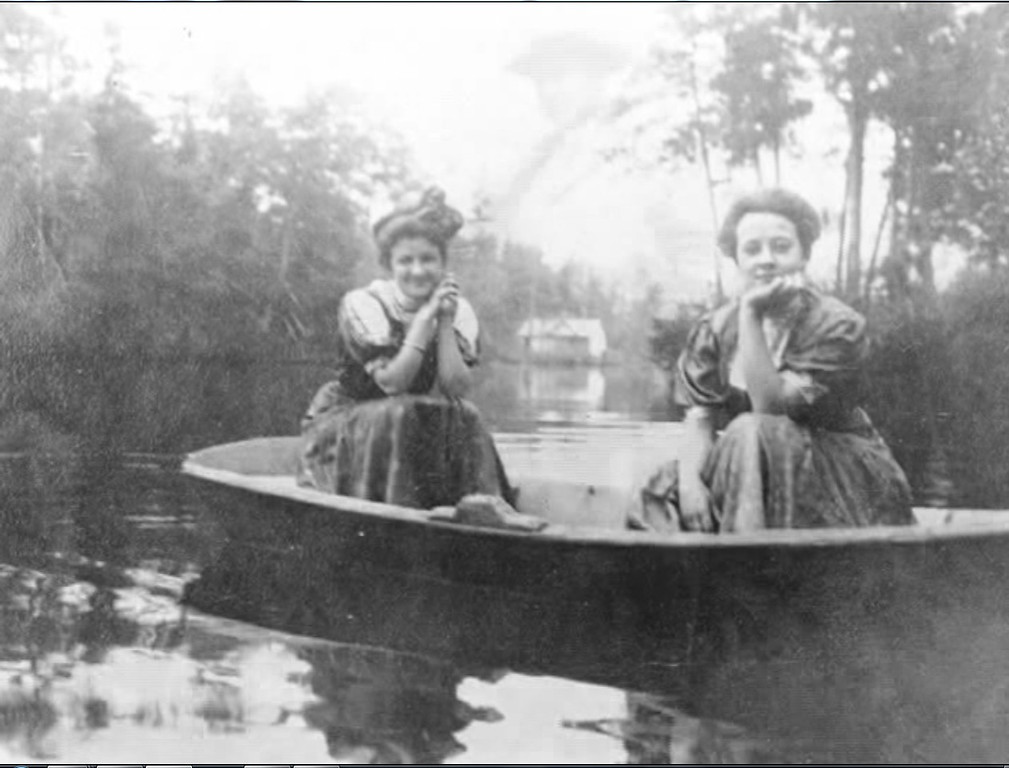 Ladies in boat