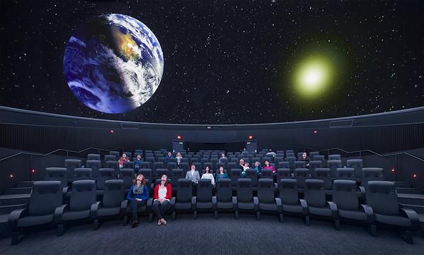 Whitney and Elizabeth Planetarium, Bell Museum