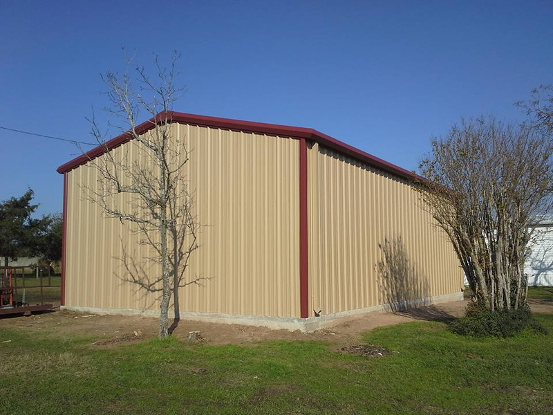 Back side of the new Barn!