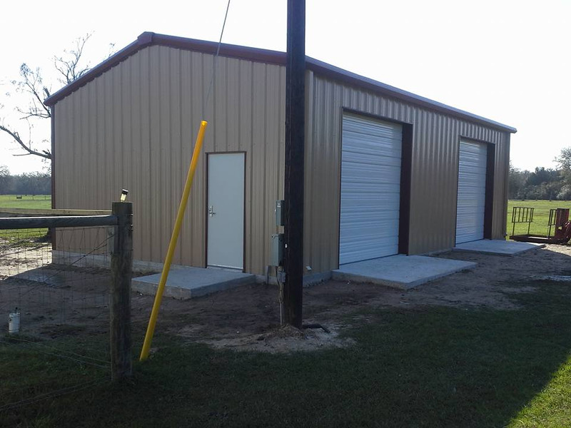 Front side of the new barn!