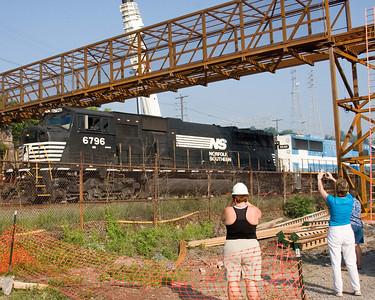 First train under