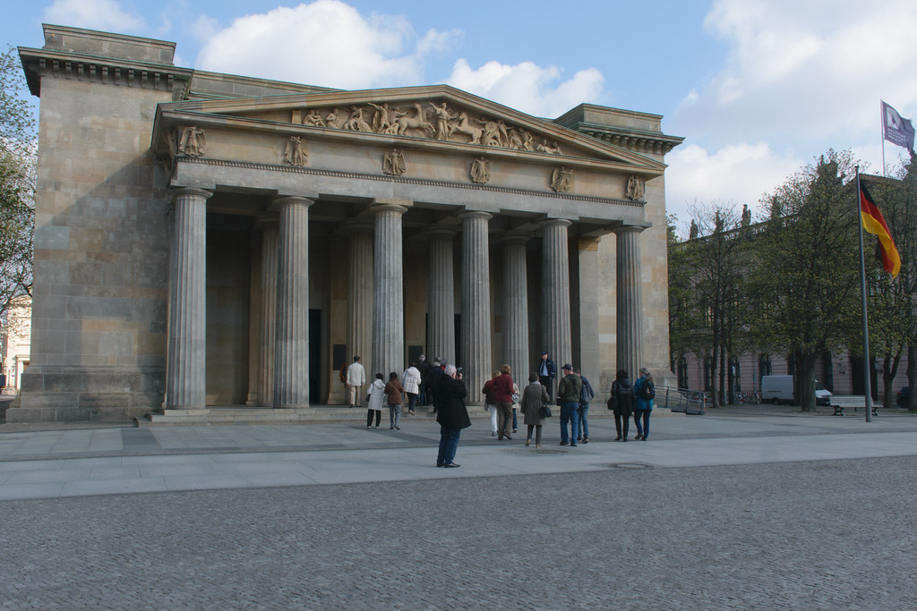 National Memorial to the Victims of War and Tyranny, Berlin.