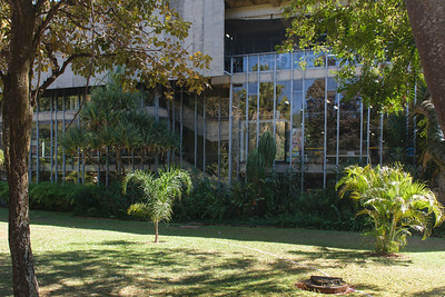 University Restaurant, Brasilia. José Galbinski, Architect.