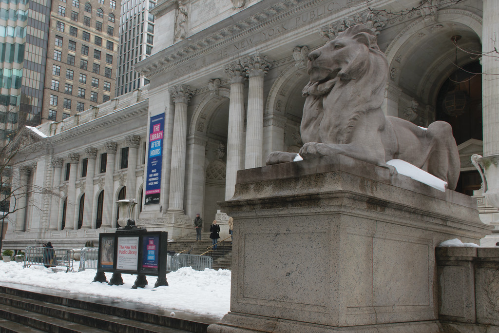 New York Public Library. Carrère and Hastings, Architecture Firm.