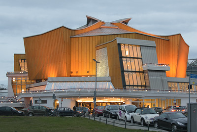 Berlin Philharmonic Chamber Music Hall, Berlin. Edgar Wisniewski, architect.