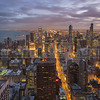 Birdseye view of Downtown Chicago
