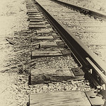 Old Time Railroad Tracks