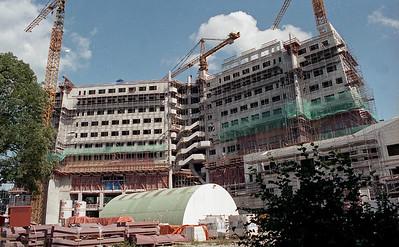 Gasunie nieuwbouw, 1991-1992