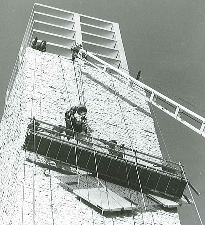 clock tower clean up Nov 26/92