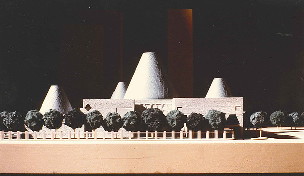City Hall concept model 1990