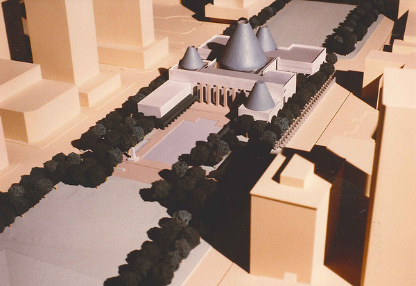 City Hall concept model