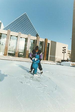 Kid Skating Dec 26/93