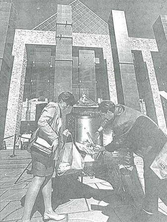 Edmonton's 100'th Anniversary at City Hall
