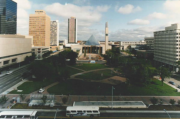 Churchill square in summer Nov 8/93