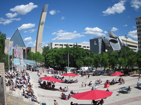 City Hall Summer 2012<br /> <br /> Fish-eye Lens, Artistic<br /> <br /> Photographer: Rene Mauthe