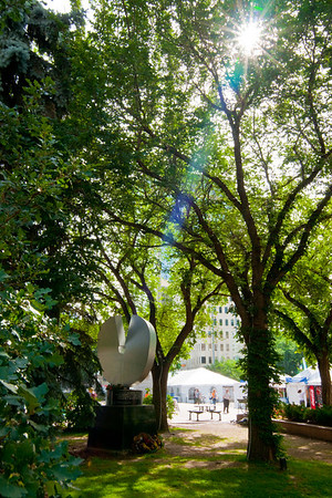 City Hall Grounds, Summer 2009