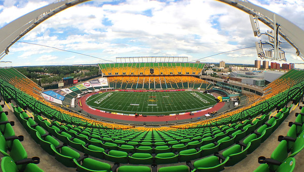 Stadium Fisheye View