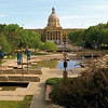 The Alberta Legislature grounds in downtown Edmonton. JCI PHOTO - Jeffrey S. Otto