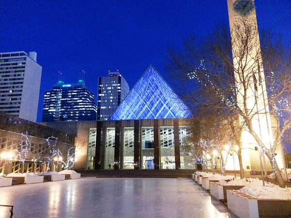 Edmonton City Hall January 2013