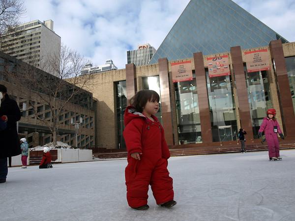 Edmonton City Hall Winter 2011/2012