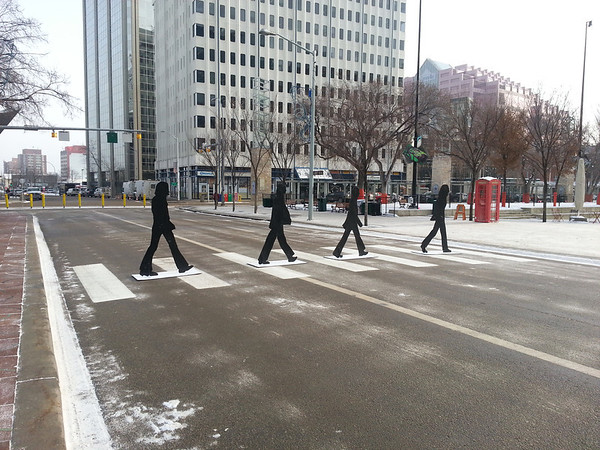 'Abbey Road' 102 Avenue<br /> Come Together: Edmonton's Celebration of Paul McCartney