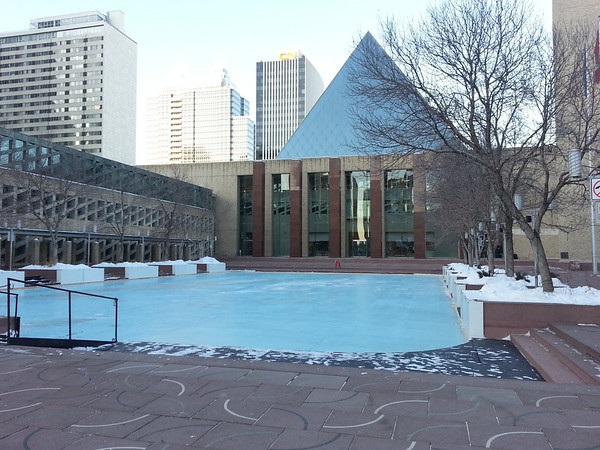 Edmonton City Hall November 2012