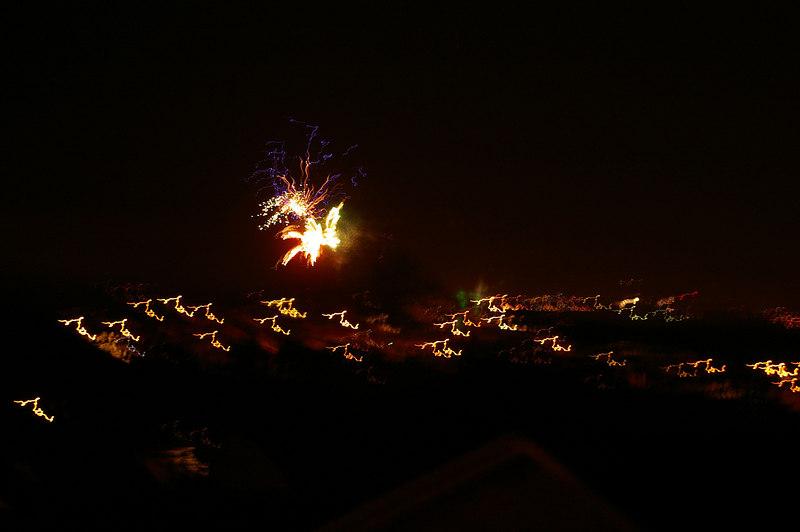 Shaky Fireworks capture 2006