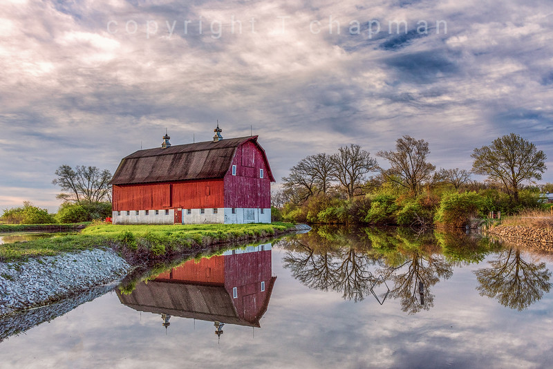 Reflected Barn
