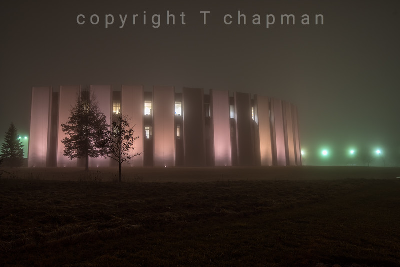 Foggy Night I