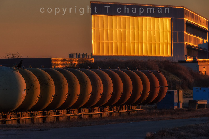 Industrial Golden Hour