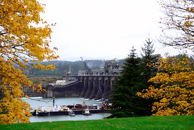 Oregon Travel Photography - Bonneville Dam -