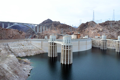 Arizona Travel Photography - Hoover Dam