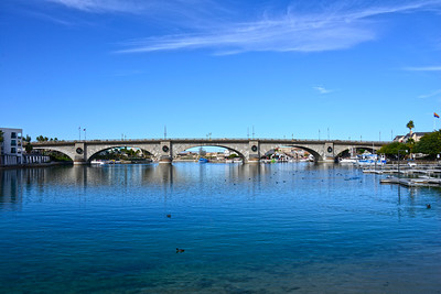 Arizona Travel Photography - Lake Havasu London Bridge