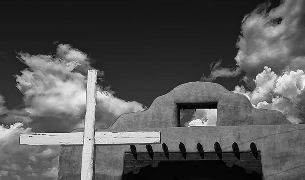 Abiquiu New Mexico, St Thomas Mission