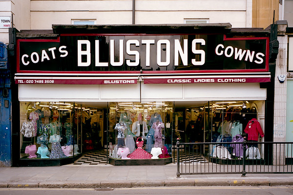 Blustons, Kentish Town - in its heydey