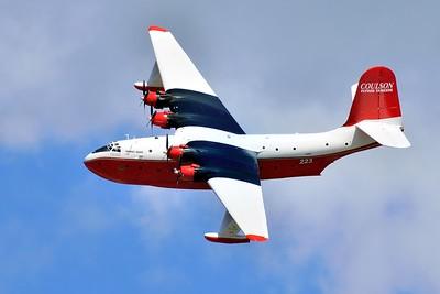 "Martin Mars ""Hawaii Mars"" Flying tanker"