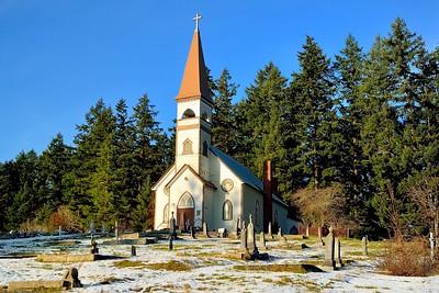 St. Ann's Church, Quamichan - Duncan
