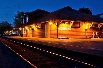 The Port Alberni Train Station