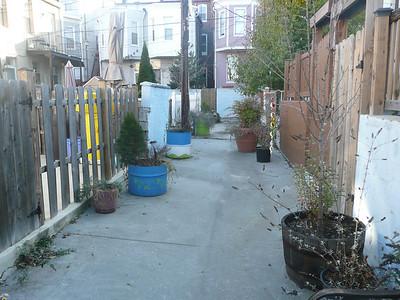 Alley gating restoration