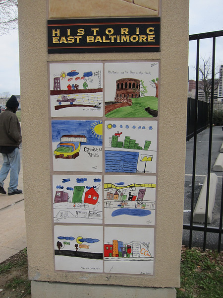 Historic East Baltimore sign