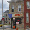 Cut Rate Liquors at Biddle St and Broadway