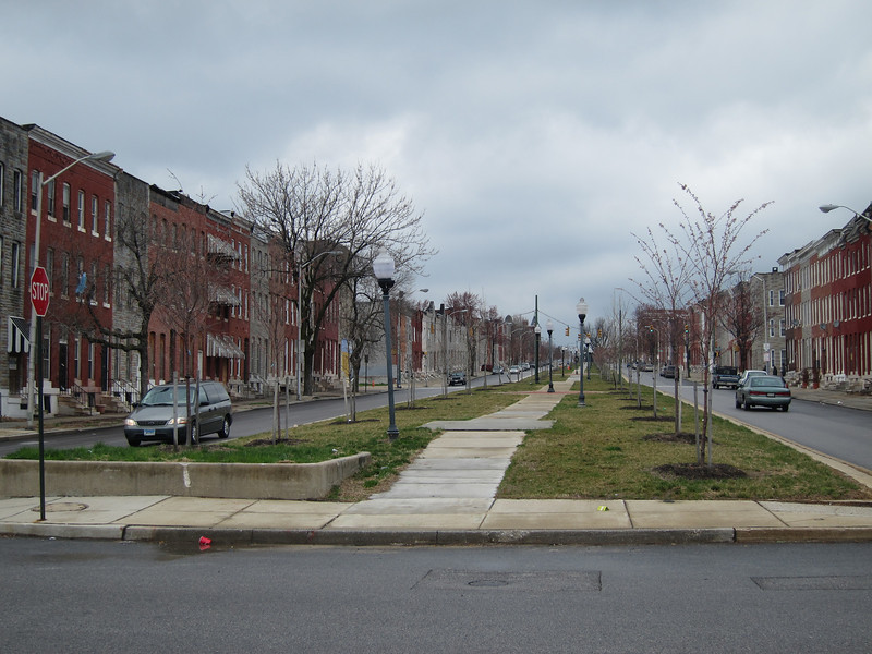Boulevard strip North Broadway