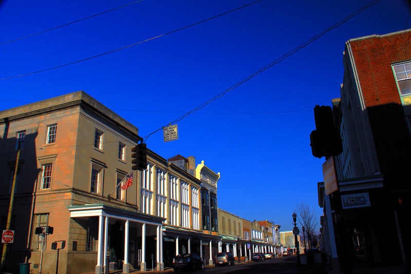 Uptown Kingston New York HDR photograph...other side of the street..a week later!