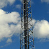 Cell tower exit 18 NYS Thruway Kingston NY. Best viewed X3