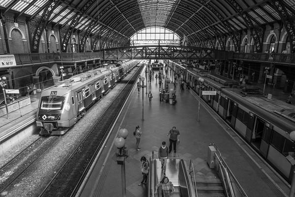 Sao Paulo LUZ train station