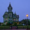 The Carson Mansion in Eureka, California