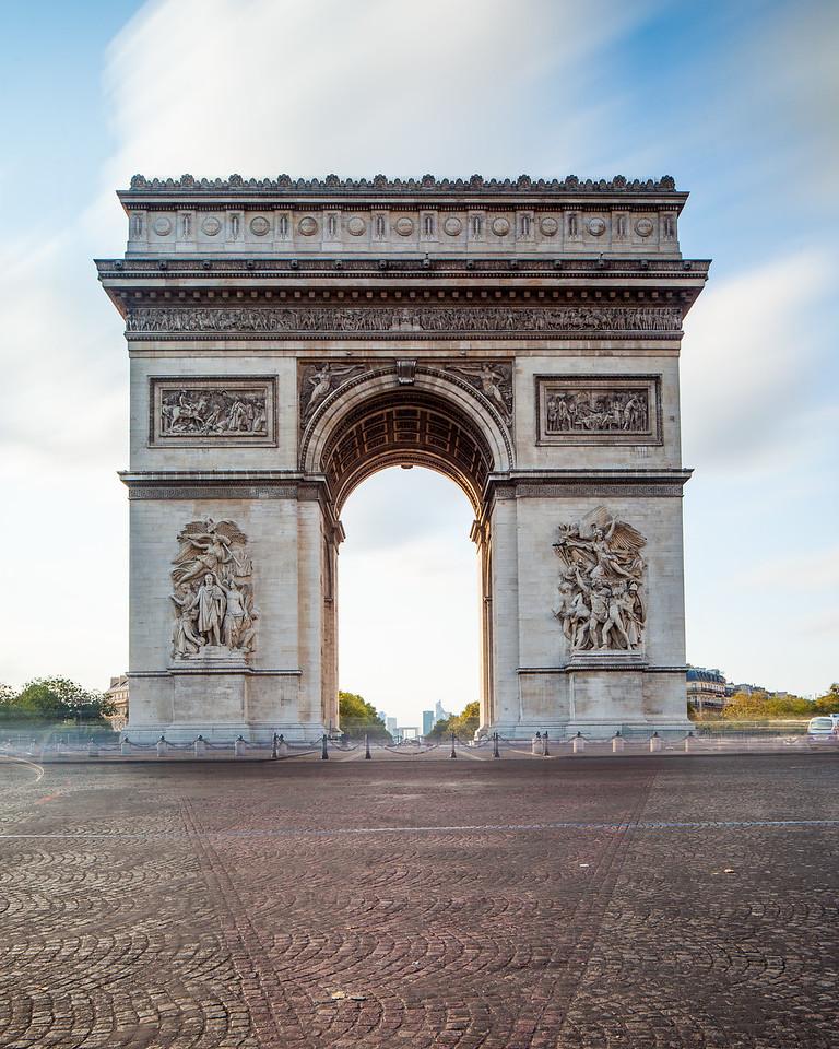 Arc de Triomphe de l'Étoile, France