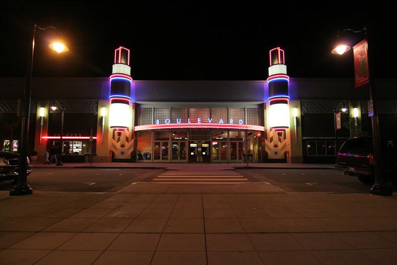 Boulevard Cinema Petaluama, CA.